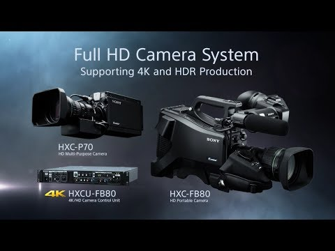 HXC-FB80/HXCU-FB80 Camera System Features