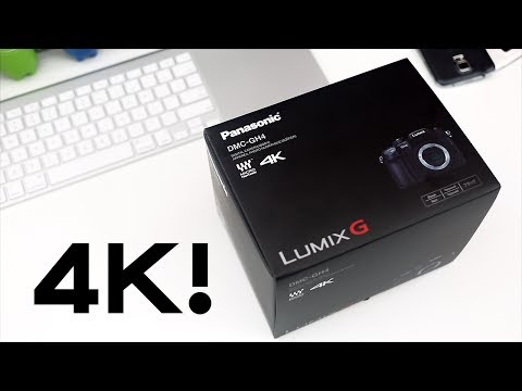 Panasonic GH4 Unboxing And 4K Demo Footage!
