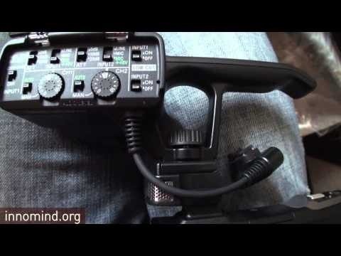 Sony HXR-NX30U NXCAM: UNBOXING AND FIRST LOOK