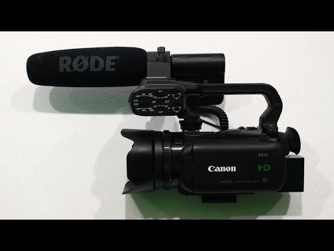Canon XA10 Prosumer Camcorder Unboxing