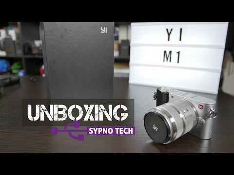 Unboxing the $299 Yi M1 4K Mirrorless Camera