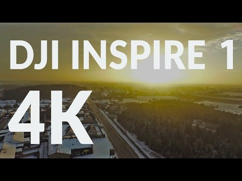 First flight with DJI Inspire 1 - 4K Footage