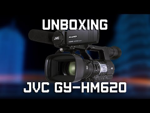 JVC GY-HM620 Unboxing