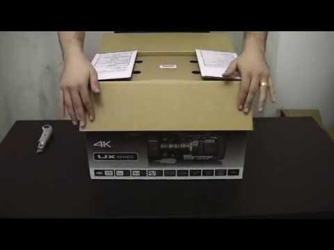 Unboxing Panasonic AG-UX90
