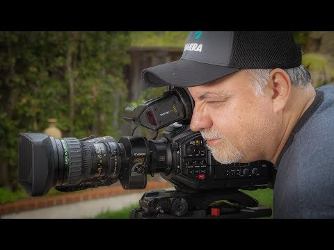 URSA Broadcast Camera Review