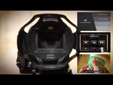 HC-WXF990M 4K Camcorder: Make Movie Magic