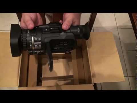 JVC HM150U Unboxing