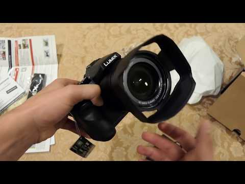 Panasonic FZ2500 Unboxing and Specs