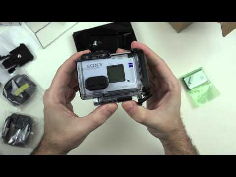 Sony FDR-X1000V 4K Action Cam Unboxing