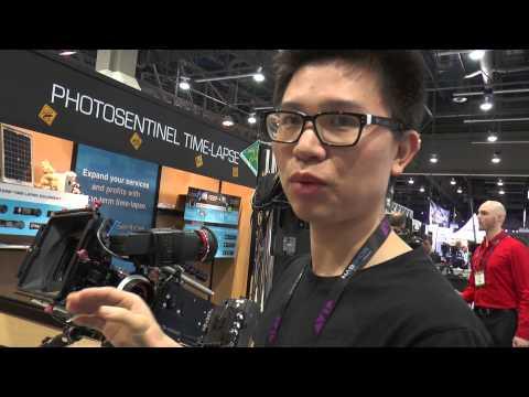Kinefinity -Kinemini 4K camera - NAB 2014