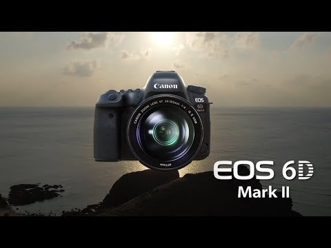 Official Canon EOS 6D Mark II Digital Camera Introduction