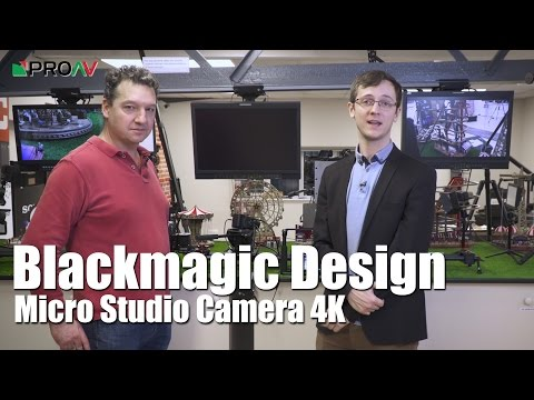 Blackmagic Design Micro Studio Camera 4K - Richard Payne Interview