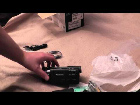 Unboxing Panasonic HC-X920 and testing it