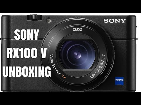 Sony RX100 V Unboxing