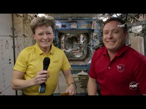 4K UHD Television Downlinked from the Space Station in Ground-Breaking Demonstration