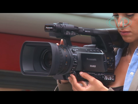 An introduction to the Panasonic AG-HPX250 handheld P2 camcorder