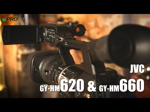 JVC GY-HM620 & GY-HM660 - First Look