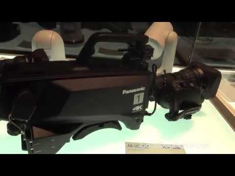 NAB 2015 Panasonic AK-UC3000 4K Studio Camera