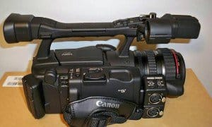 Canon pro video camera