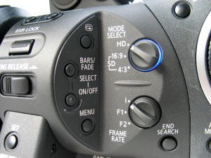 Canon XL Reviw of buttons