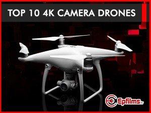 top10 4K camera drones