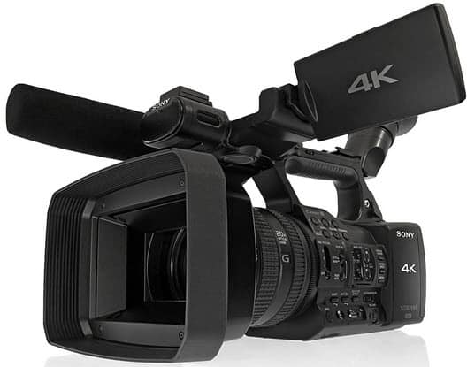 PXW-Z100 Camcorder at 4k
