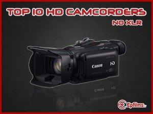 no XLR video cameras