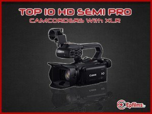 Semi pro camcorders with XLR