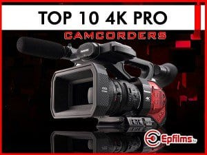 Top Ten 4K camcorders