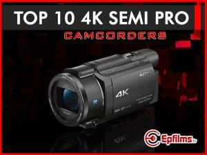 4K consumer camcorders
