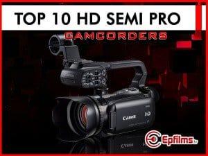 best Semi Pro camcorders