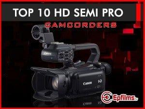 HD semi pro camcorders