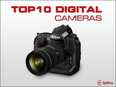 top 10 Professional digital cameras