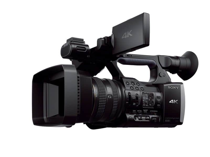 sony 4k fdrax1 camcorder pro affordability. Black Bedroom Furniture Sets. Home Design Ideas