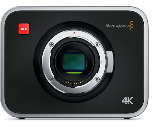 Blackmagic, production camera, 4K camera