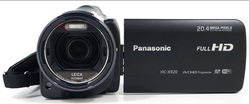budget camcorder Panasonic HC-X920review