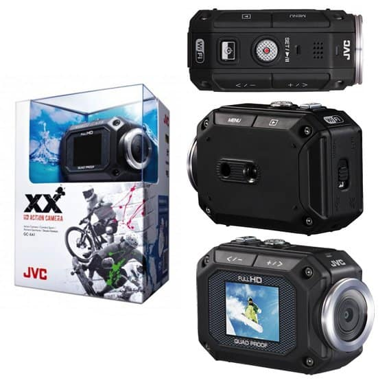 jVC GC-XA1EU top ten action cam