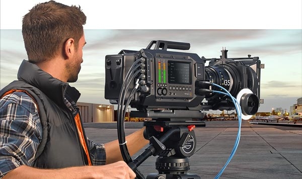 Black Magic 4k Ursa Camcorder