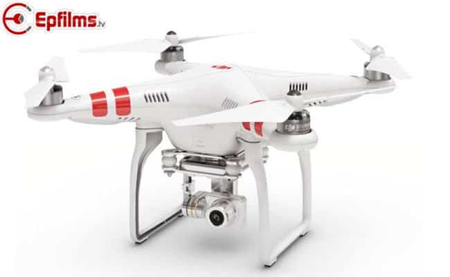 Vision 2plus hands quadcopter