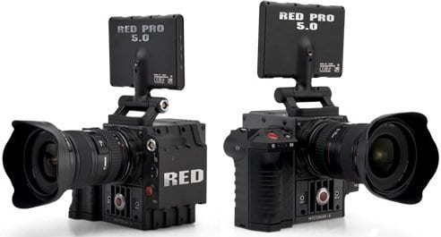Red Scarlet Vs Epic MX