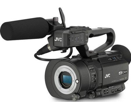JVC LS300 4k camcorder