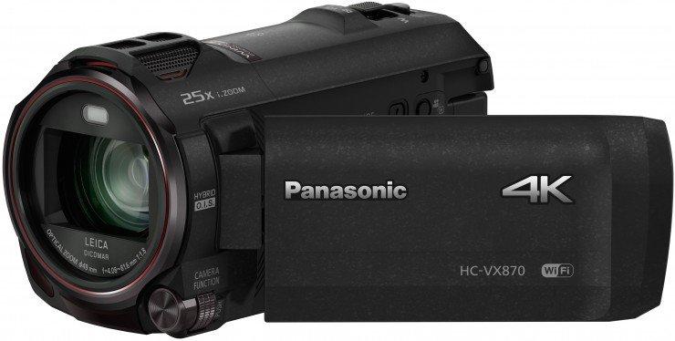 VX870 4k camera for video