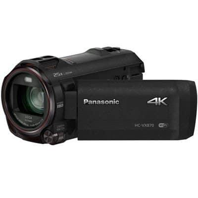 Panasonic HC-VX870 4K Camcorder