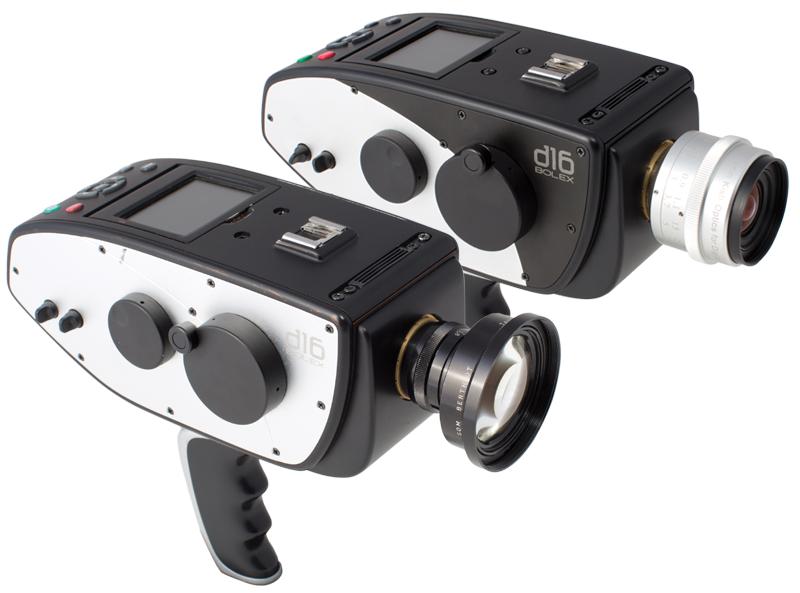 2 Digital Bolex D16 RAW Video Camera Side view