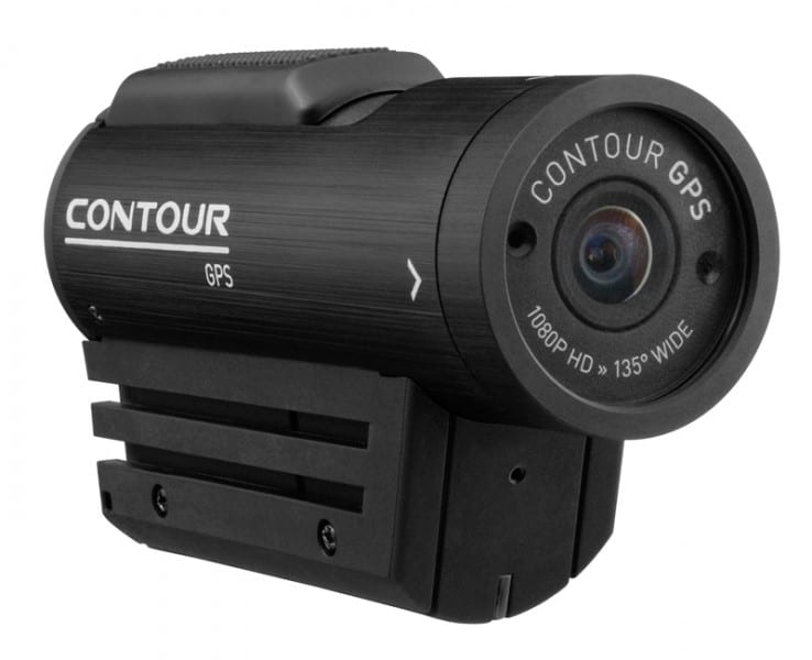 Black GPS camera by Contour