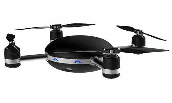 Black and cute Lily Flying Camera