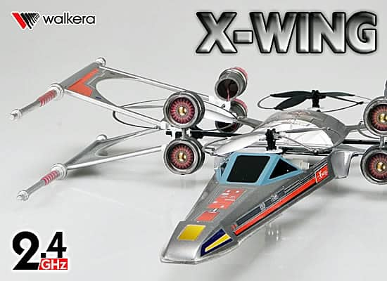 Xwing quadcopter by Olivier C