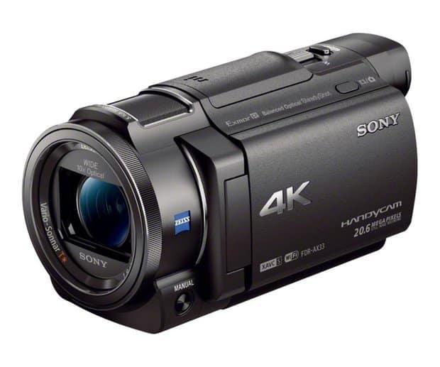 FDR-AX33 4K Camcorder