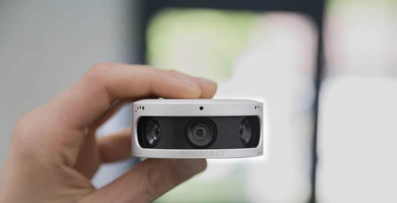 Panoramic-4K Video Camera,