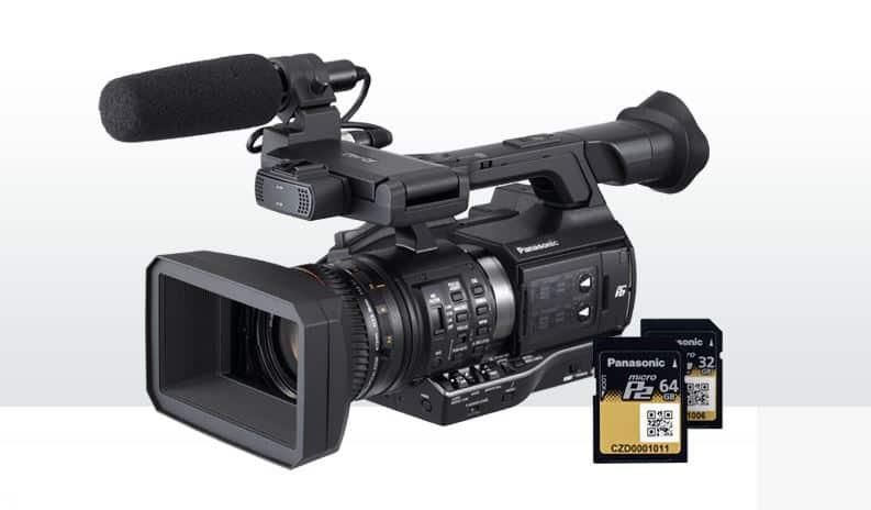 Panasonic AJ-PX270, handheld camcorder